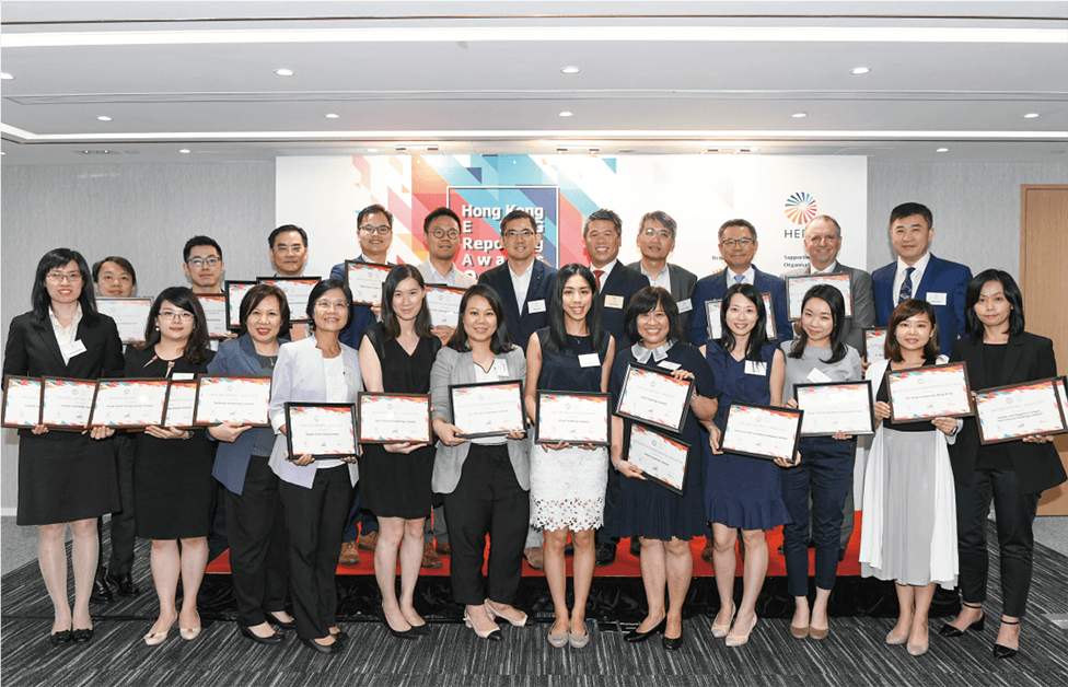 2018 Hong Kong ESG Reporting Awards